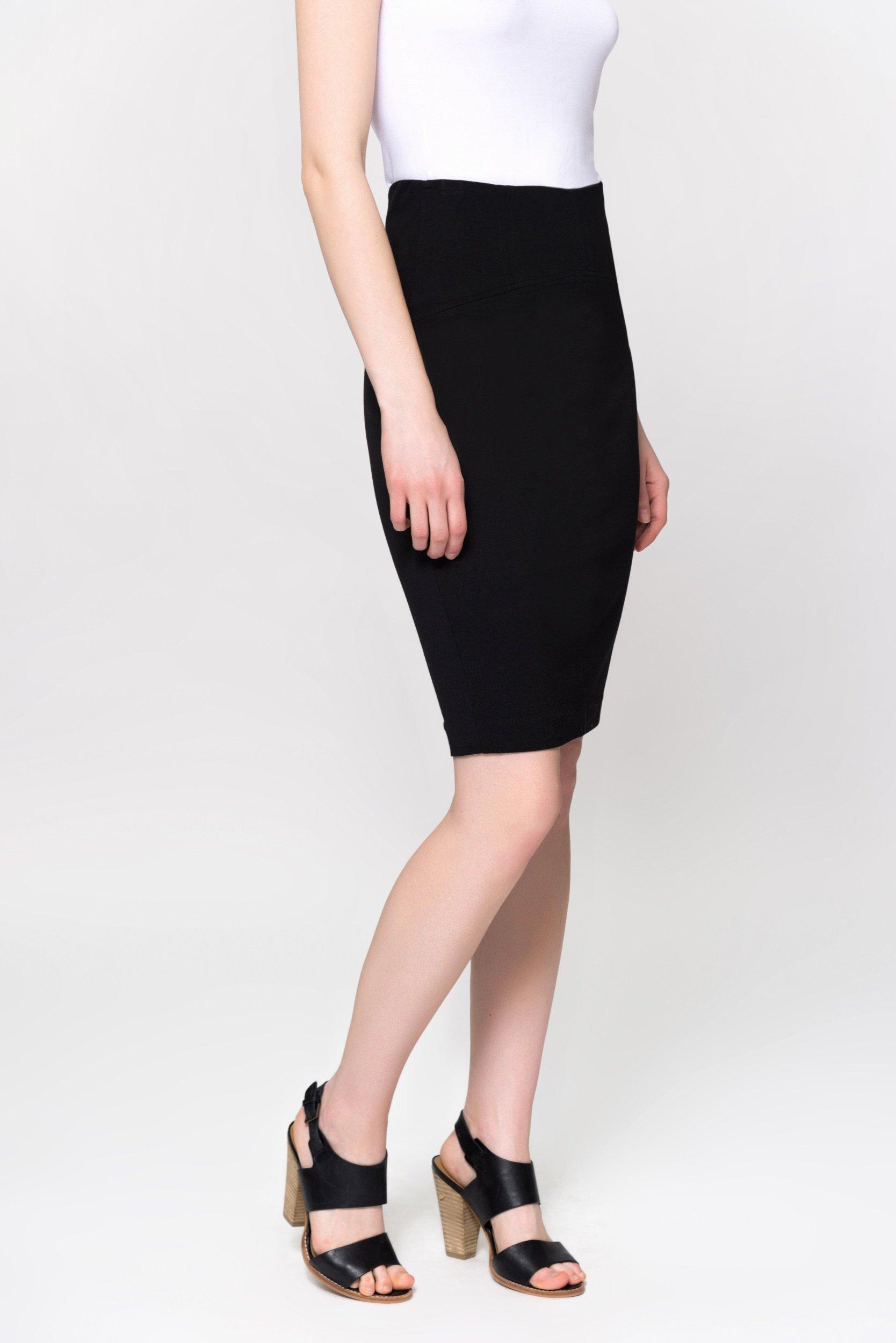 Спідниця жіноча BONARKA T1702.392 - колір  Чорний  ef96e91b03407